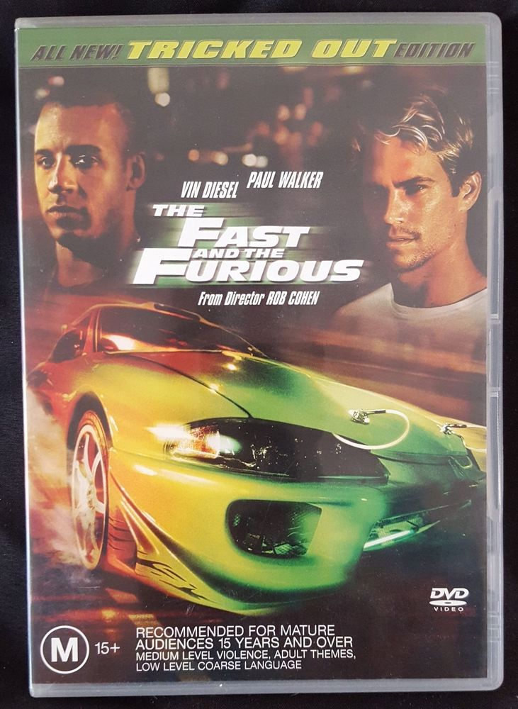 DVD - Fast & The Furious [2001] (Preowned)