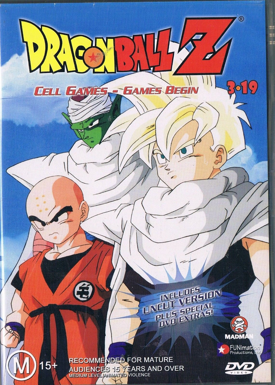 DVD - Dragon Ball Z 3.19 Cell Games : Games Begi (Preowned)