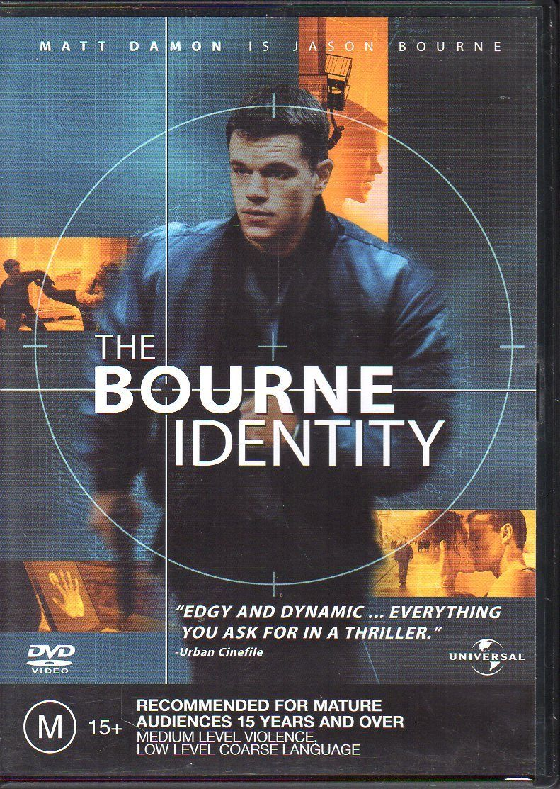 DVD - Bourne Identity, The [2002] (Preowned)