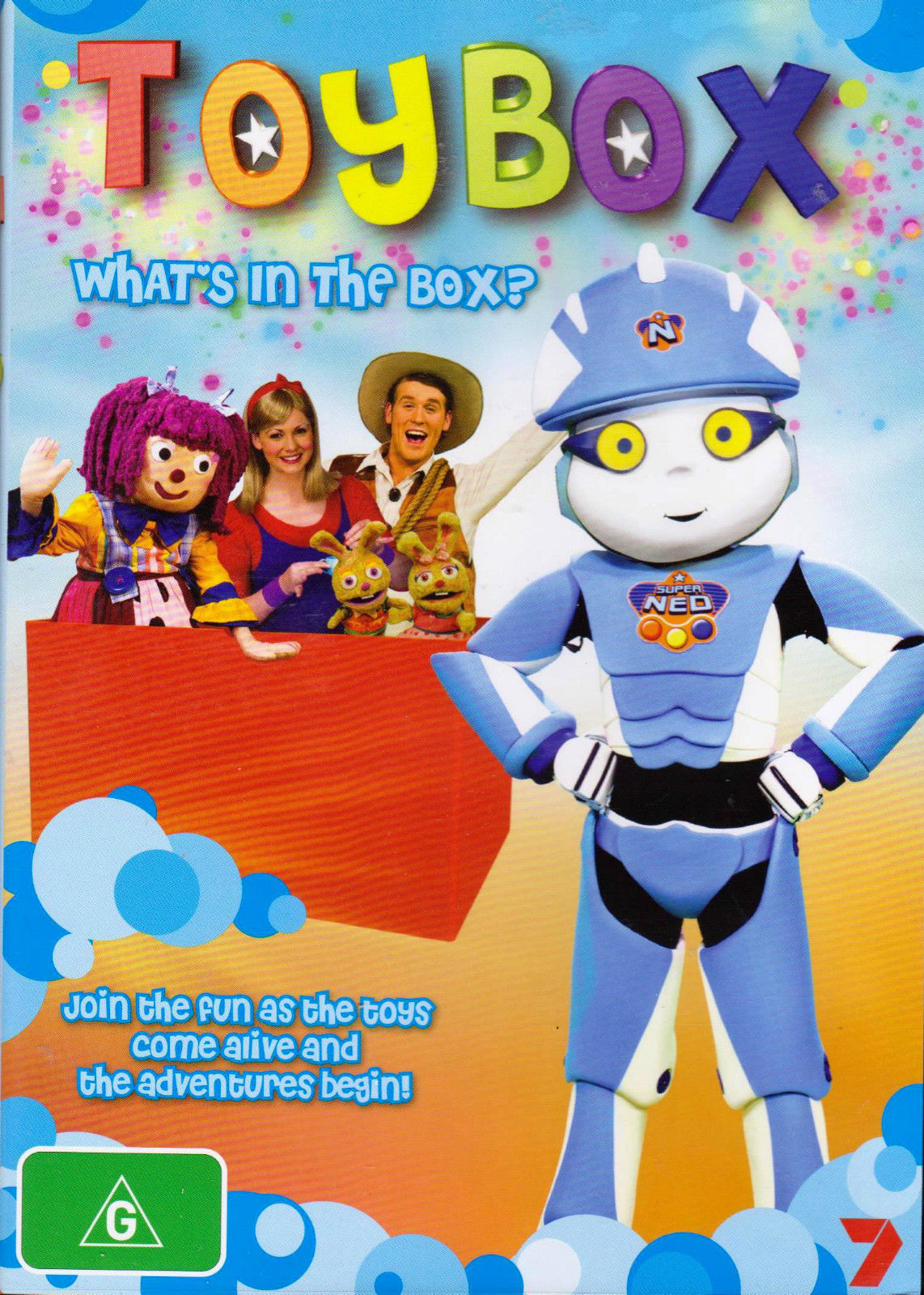 DVD - Toybox : Whats In The Box (Brand New Sealed)
