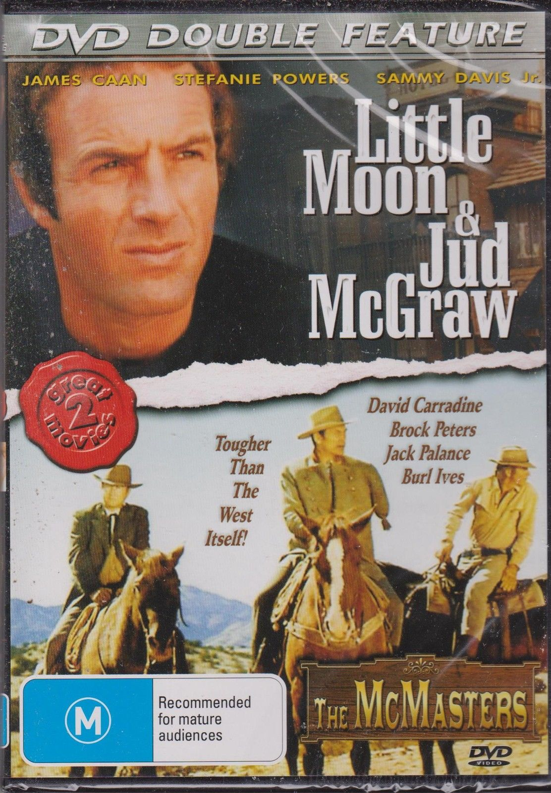 DVD - Little Moon & Jud McGraw / The McMasters (Preowned)