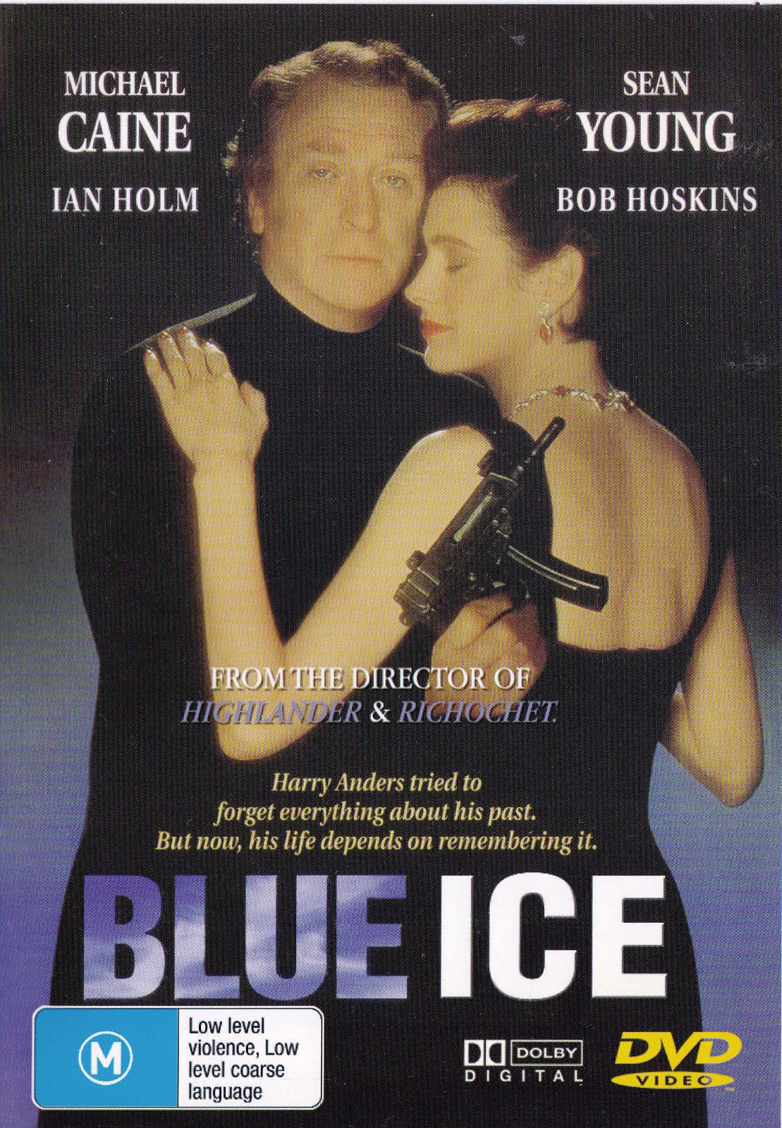 DVD - Blue Ice [1992] (Preowned)