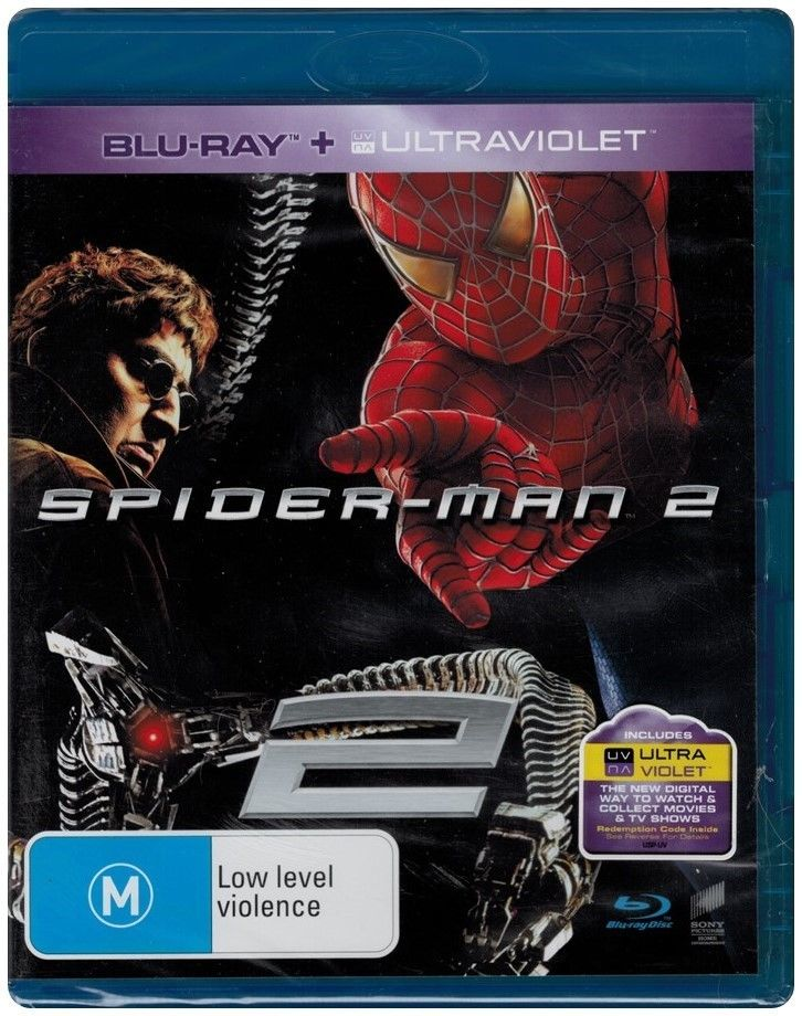 Blu-ray - Spider-Man 2 [2004] (Preowned)
