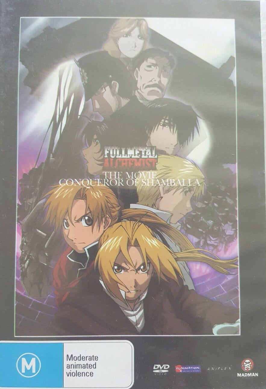 DVD - Full Metal Alchemist : Conqueror Of Shamballa (Preowned)