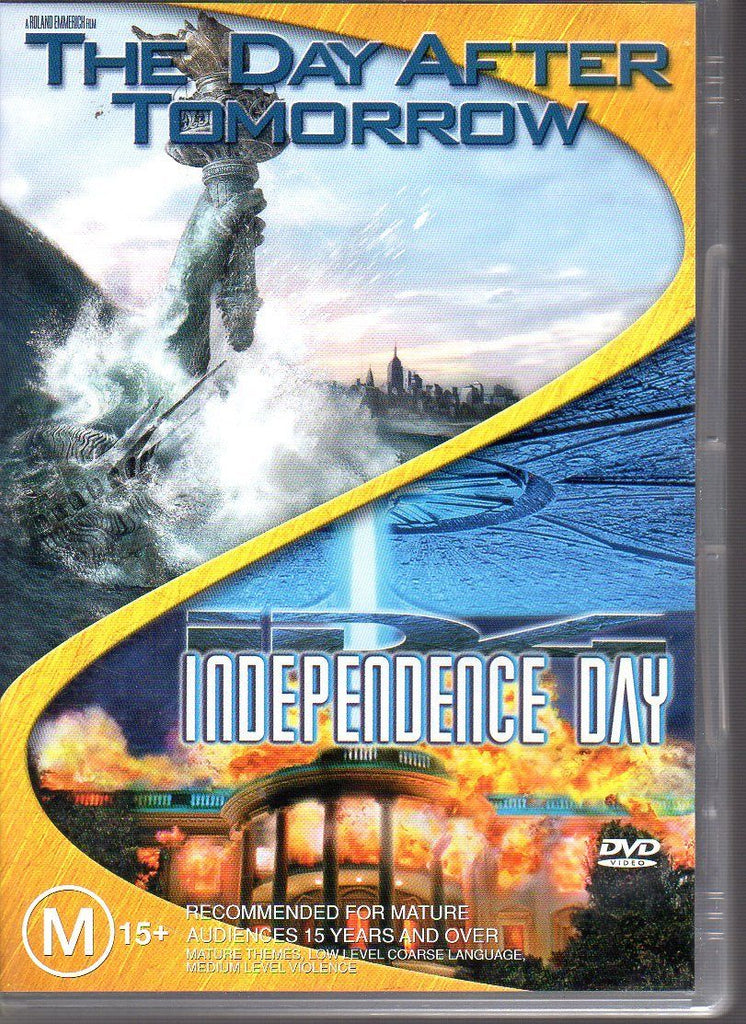 DVD - Day After Tomorrow, The/Independence Day [2005] (Preowned)