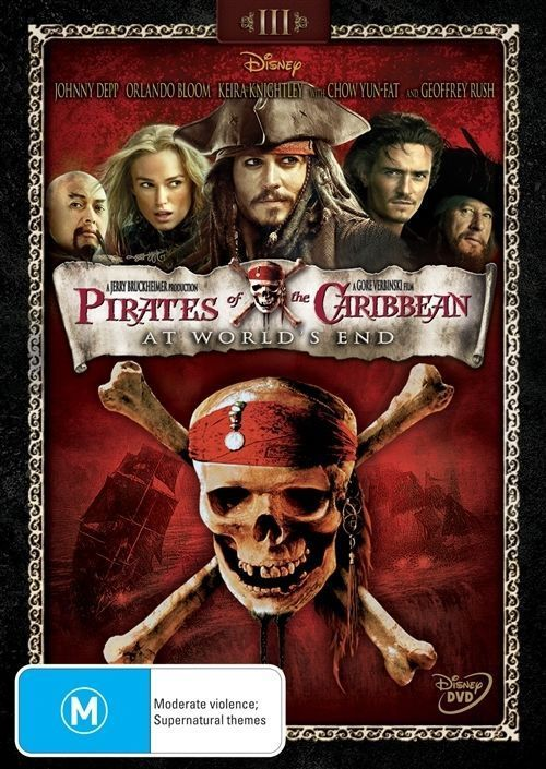DVD - Pirates Of The Caribbean : At World's End [2007] (Preowned)