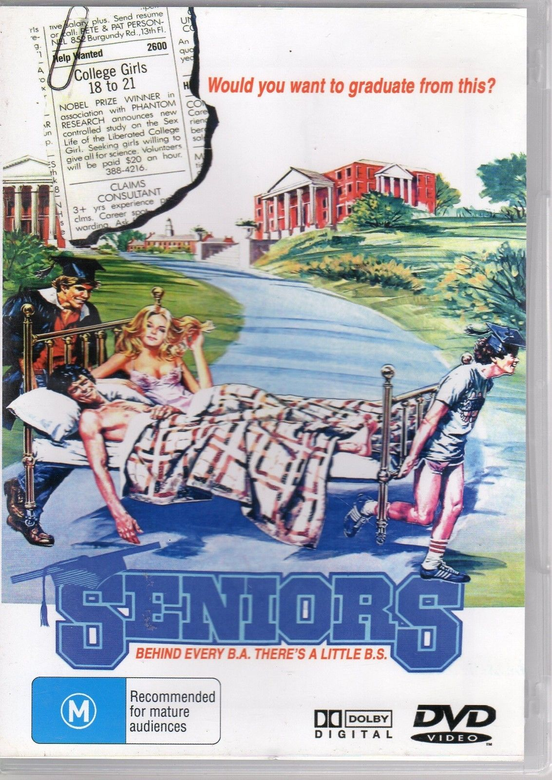 DVD - Seniors [1978] (Preowned)