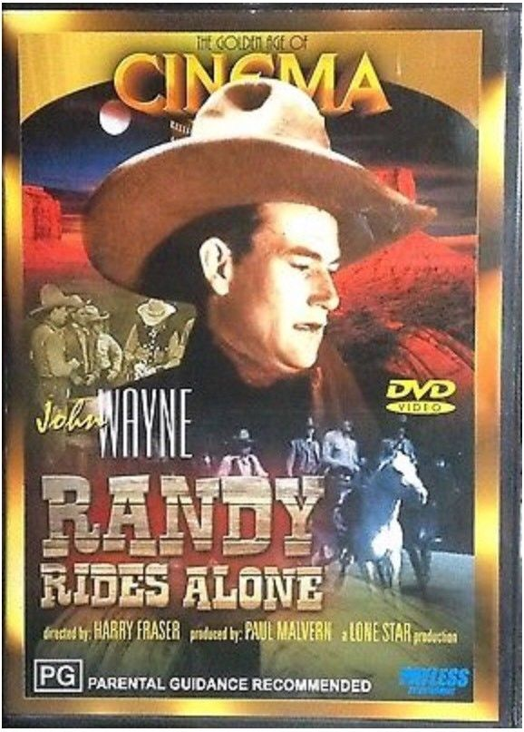 DVD - Randy Rides Alone [1934] (Preowned)