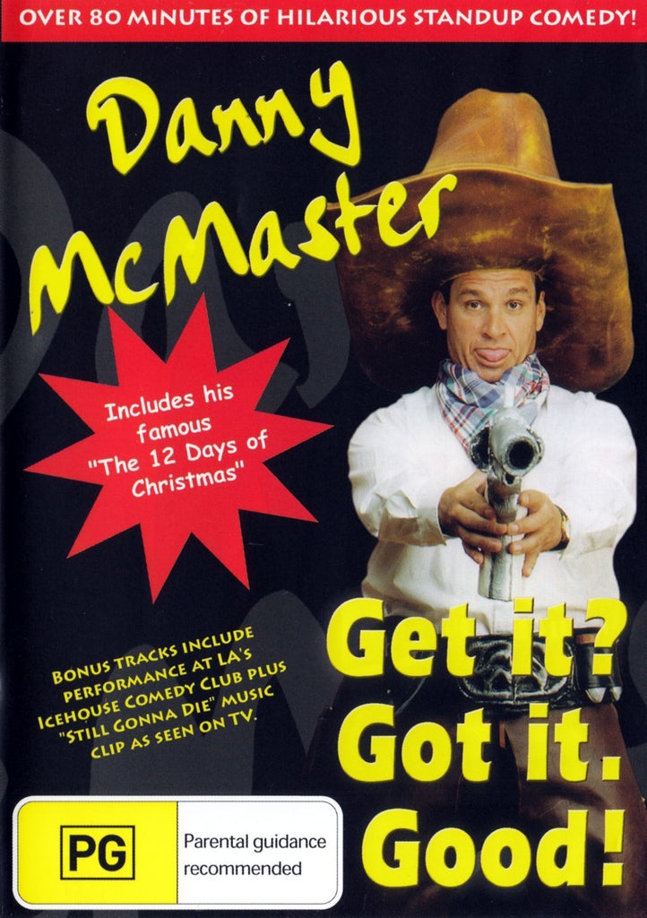 DVD - Danny McMaster : Get it? Got it. Good! (Preowned)