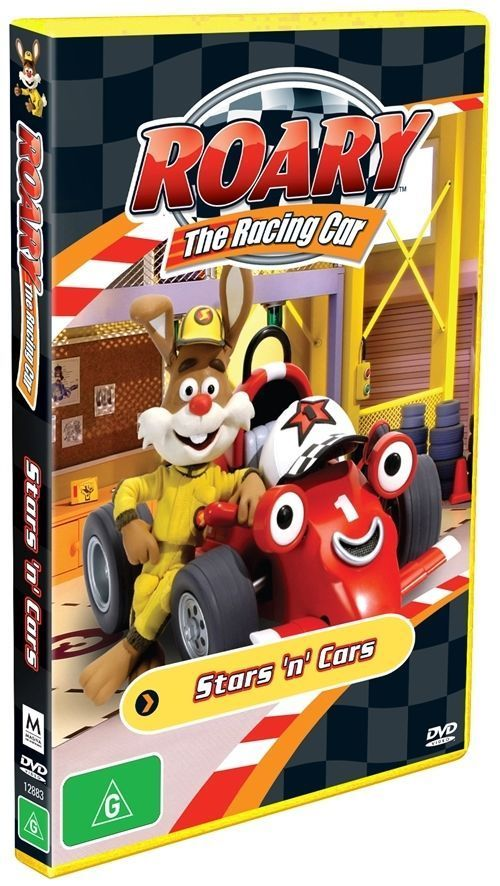 DVD - Roary the Racing Car : Stars n Cars (New and Sealed)