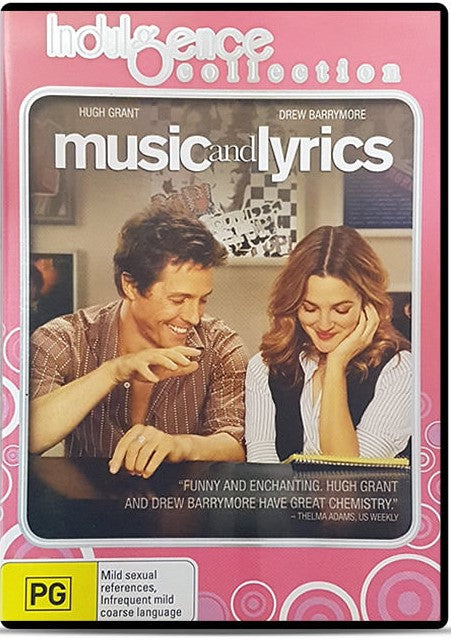DVD - Music & Lyrics [2007] (Preowned)