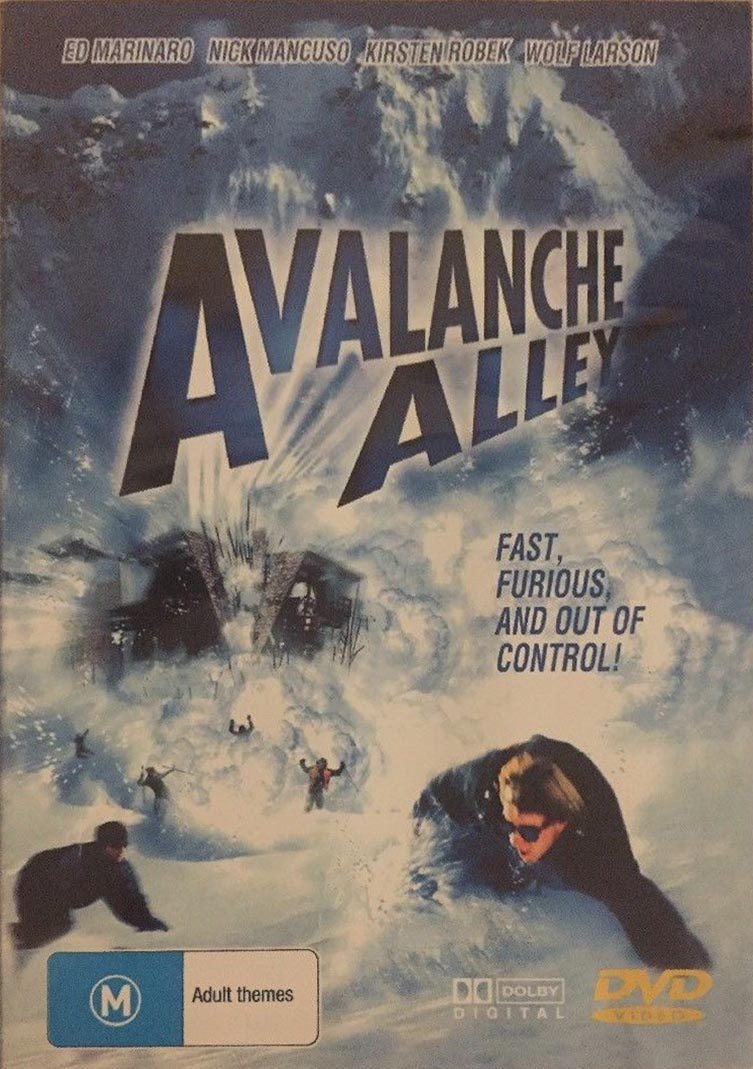 DVD - Avalanche Alley [2001] (Preowned)