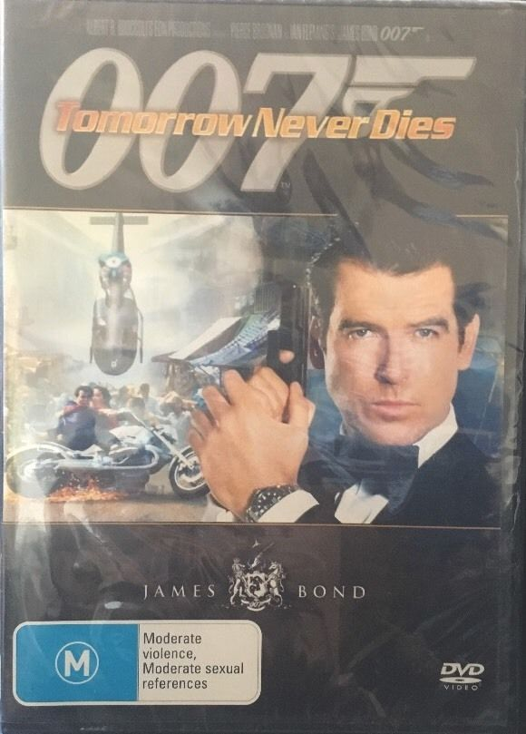 DVD - 007, Tomorrow Never Dies [1997] (Preowned)