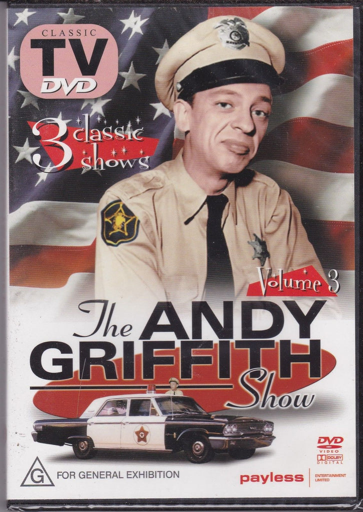 DVD - Andy Griffith Show : Volume 3 (Preowned)
