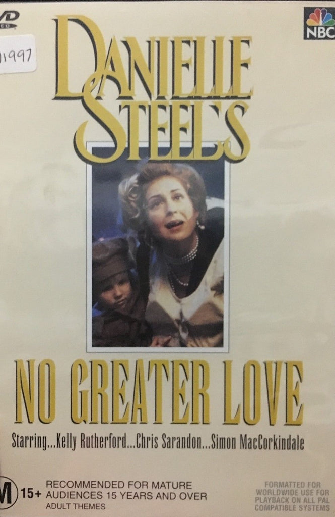 DVD - Danielle Steel's : No Greater Love (Preowned)