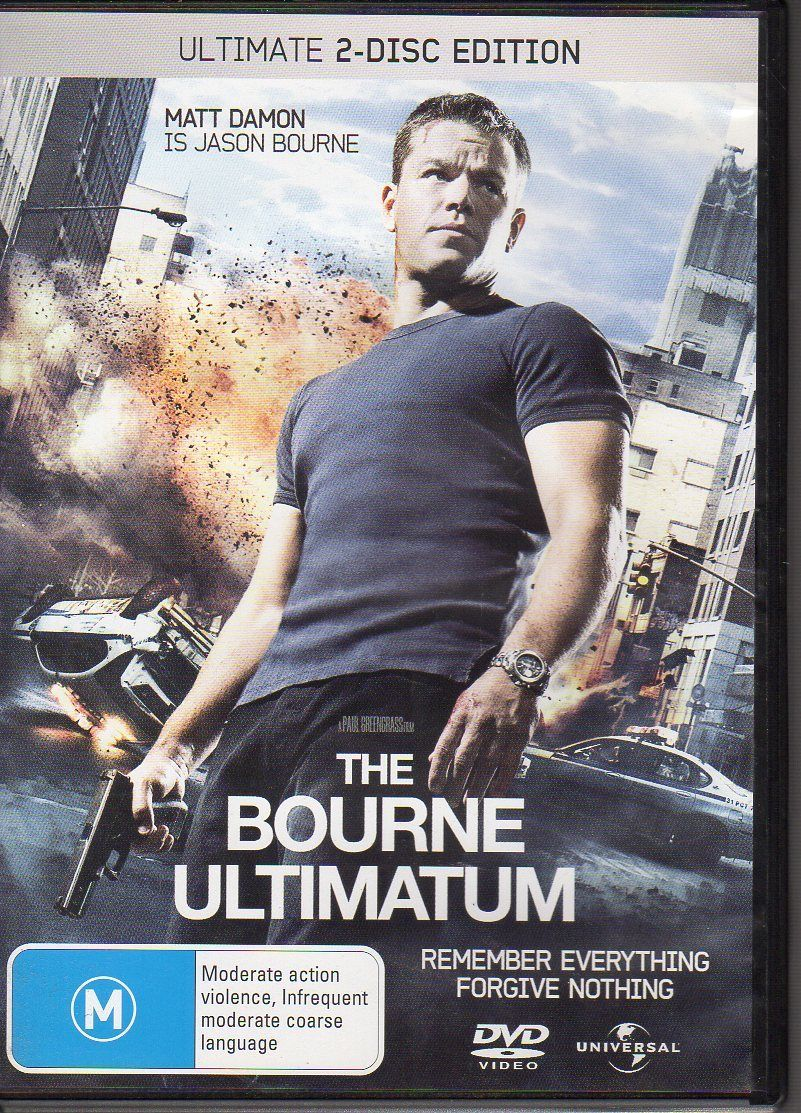 DVD - Bourne Ultimatum, The : Ultimate 2 Disc Edition [2007] (Used)