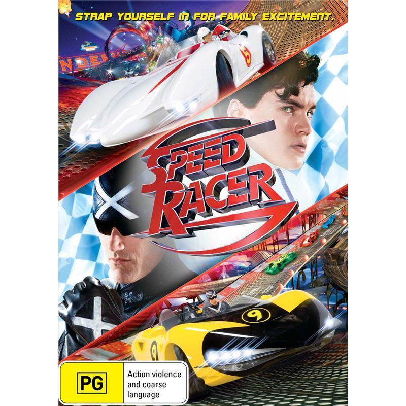 DVD - Speed Racer [2008] (Ex-Rental)