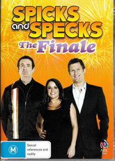 DVD - Spicks and Specks : The Finale (Brand New Sealed)