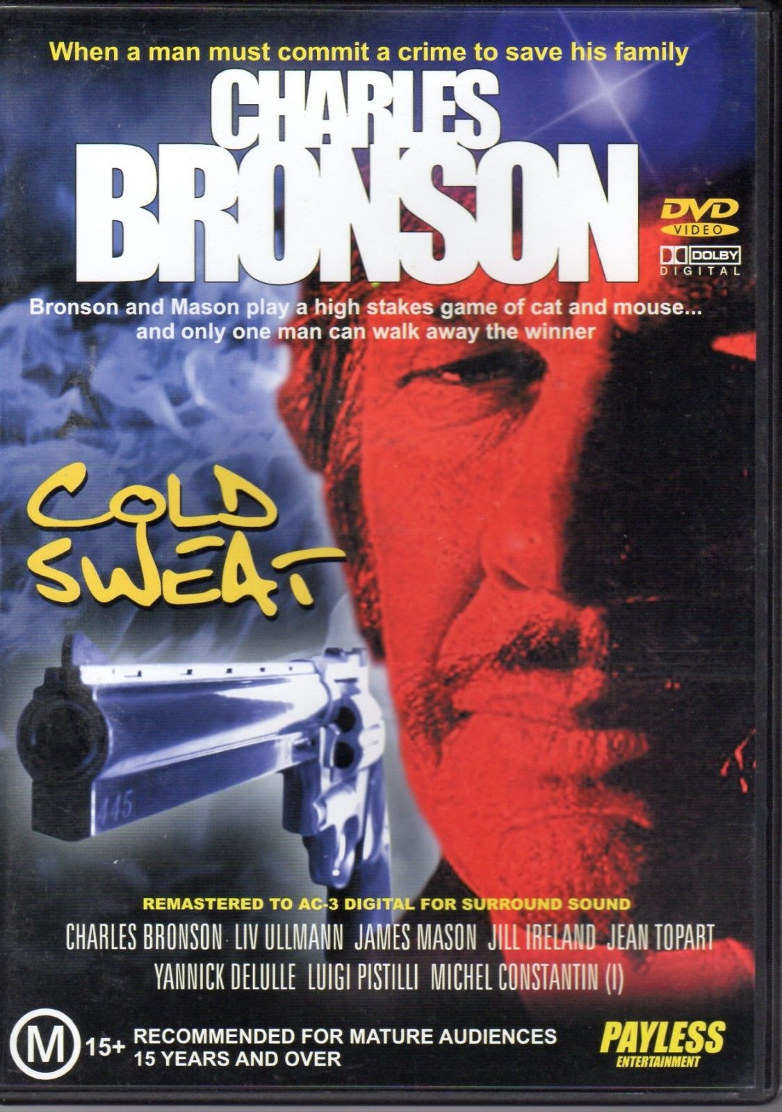 DVD - Cold Sweat [1970] (Preowned)