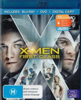 Blu-ray + DVD - X-Men : First Class