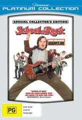 DVD - School Of Rock : Platinum Collection (Brand New)