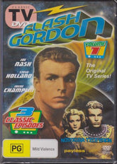 DVD - Flash Gordon : Captures The Universe : Volume 1 [1954] (Brand New)