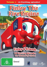 DVD - Finley The Fire Engine :  Volume 1 (Brand New)