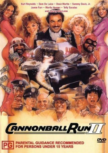 DVD - Cannonball Run 2 (Preowned)