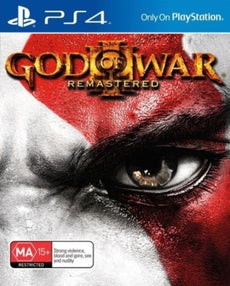 PS4 - God Of War 3 Remastered (Brand New Sealed)