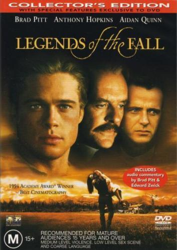 DVD - Legends Of The Fall [1994] (Preowned)