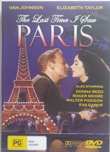 DVD - Last Time I Saw Paris, The [1954] (Preowned)
