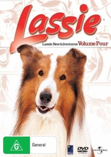 DVD - Lassie : Volume 4 (Brand New)