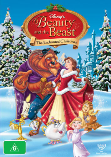 DVD - Beauty & The Beast, Enchanted Christmas [1997] (Preowned)