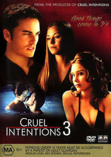 DVD - Cruel Intentions 3 [2004] (Preowned)