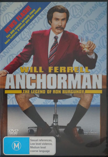 DVD - Anchorman : The Legend of Ron Burgundy [2004] (Preowned)