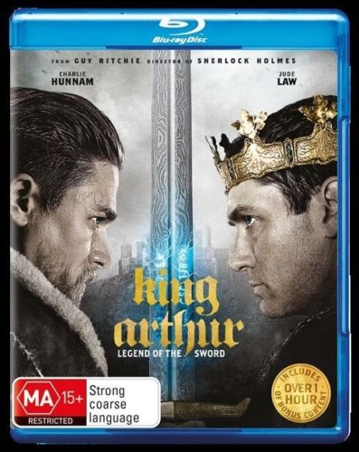 Blu-ray - King Arthur : Legend Of The Sword [2017] (Preowned)