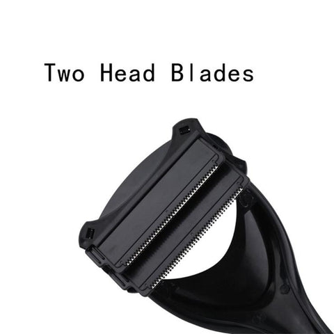 Two Heads Blade Back Shaver 2019! Back Hair Shaver, now!