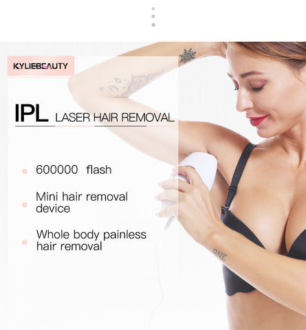 At-home Ipl Laser Hair Removal Handset