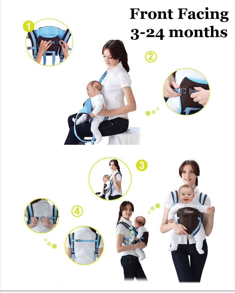 Multi functional infant kangaroo bag 06