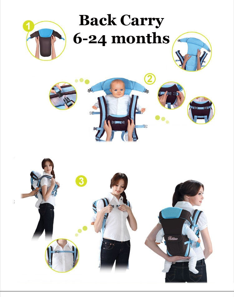 Multi functional infant kangaroo bag 08