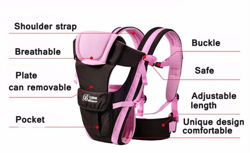 Multi functional infant kangaroo bag