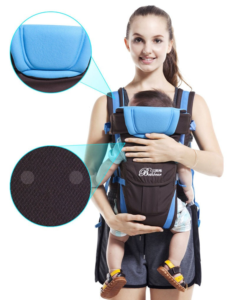 Multi functional infant kangaroo bag 11