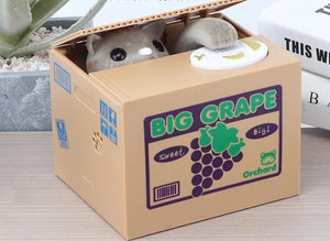 Electronic Savings Boxes - Cat Steals Coins