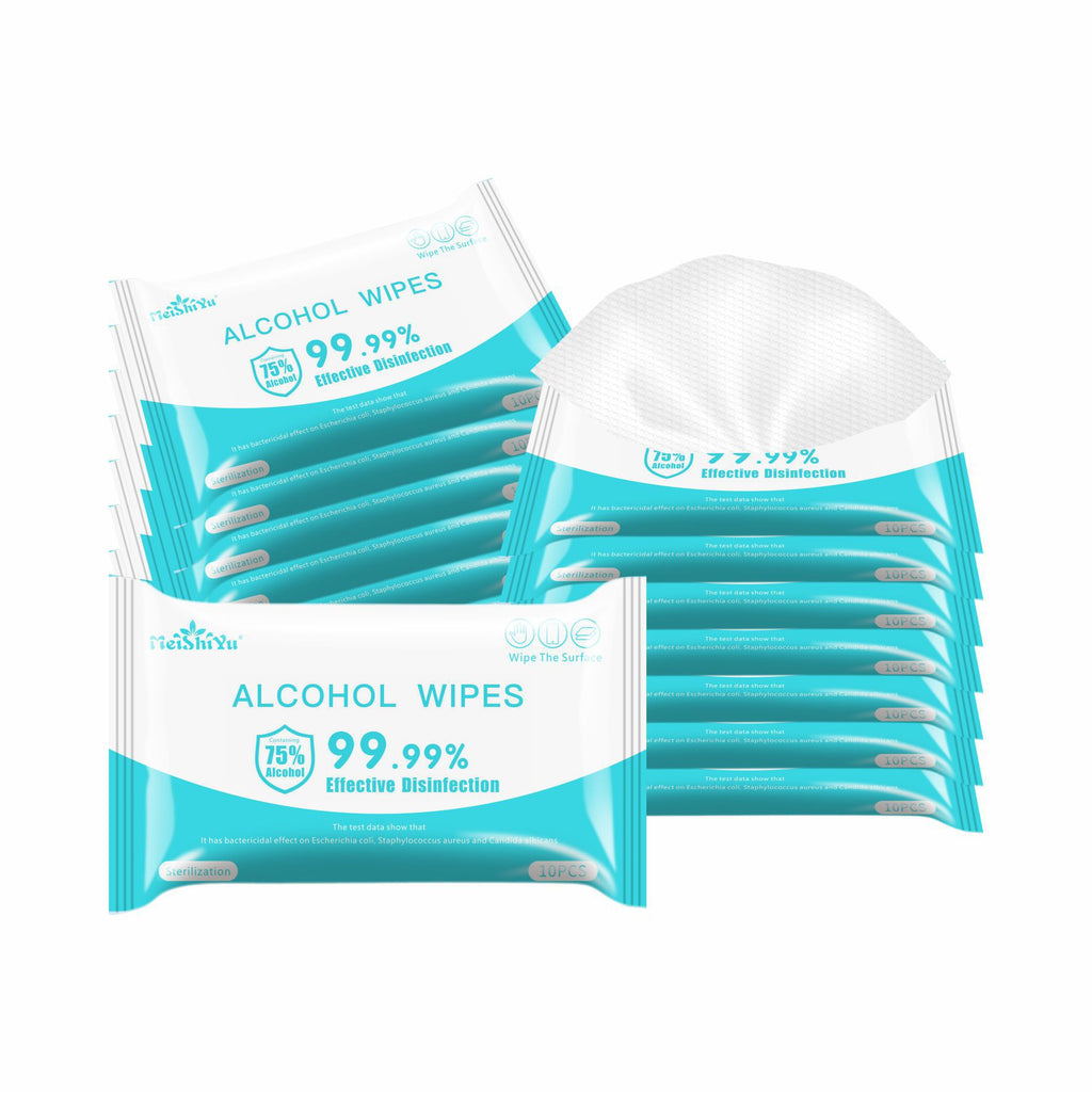 Alcohol Antiseptic Wet Wipes 75%