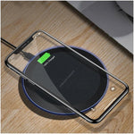 Fast Qi Wireless Charger for iPhone & Samsung & all Android phone(10W)