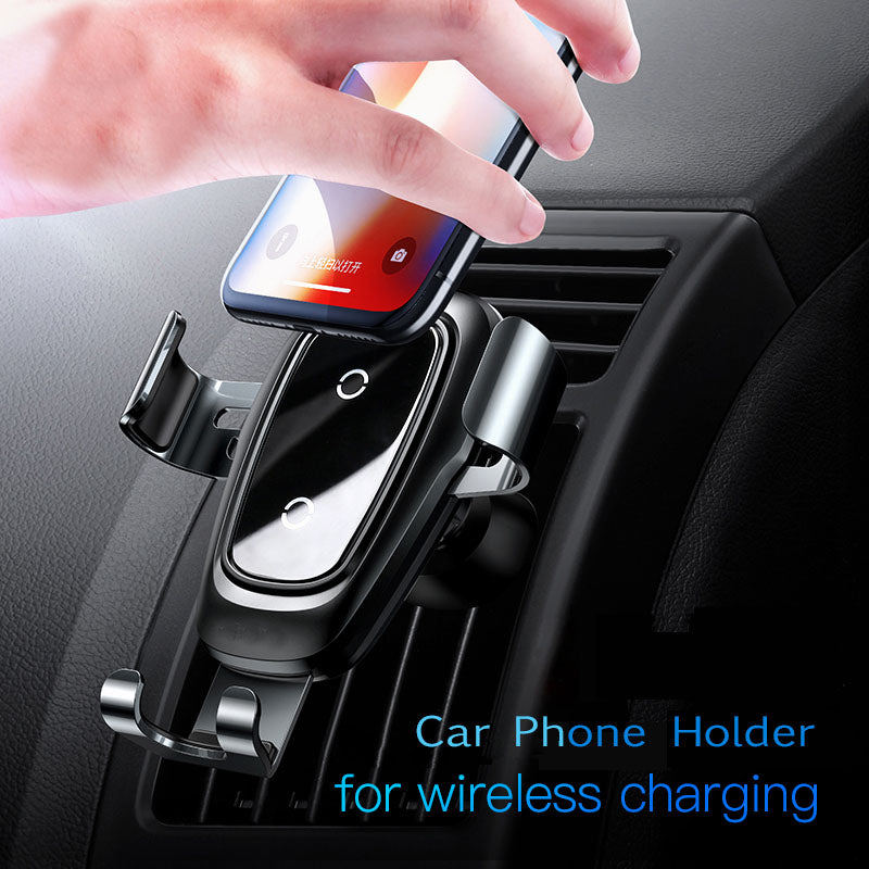 Car Qi Wireless Charger For iPhone and Samsung and all Android  In Air Vent