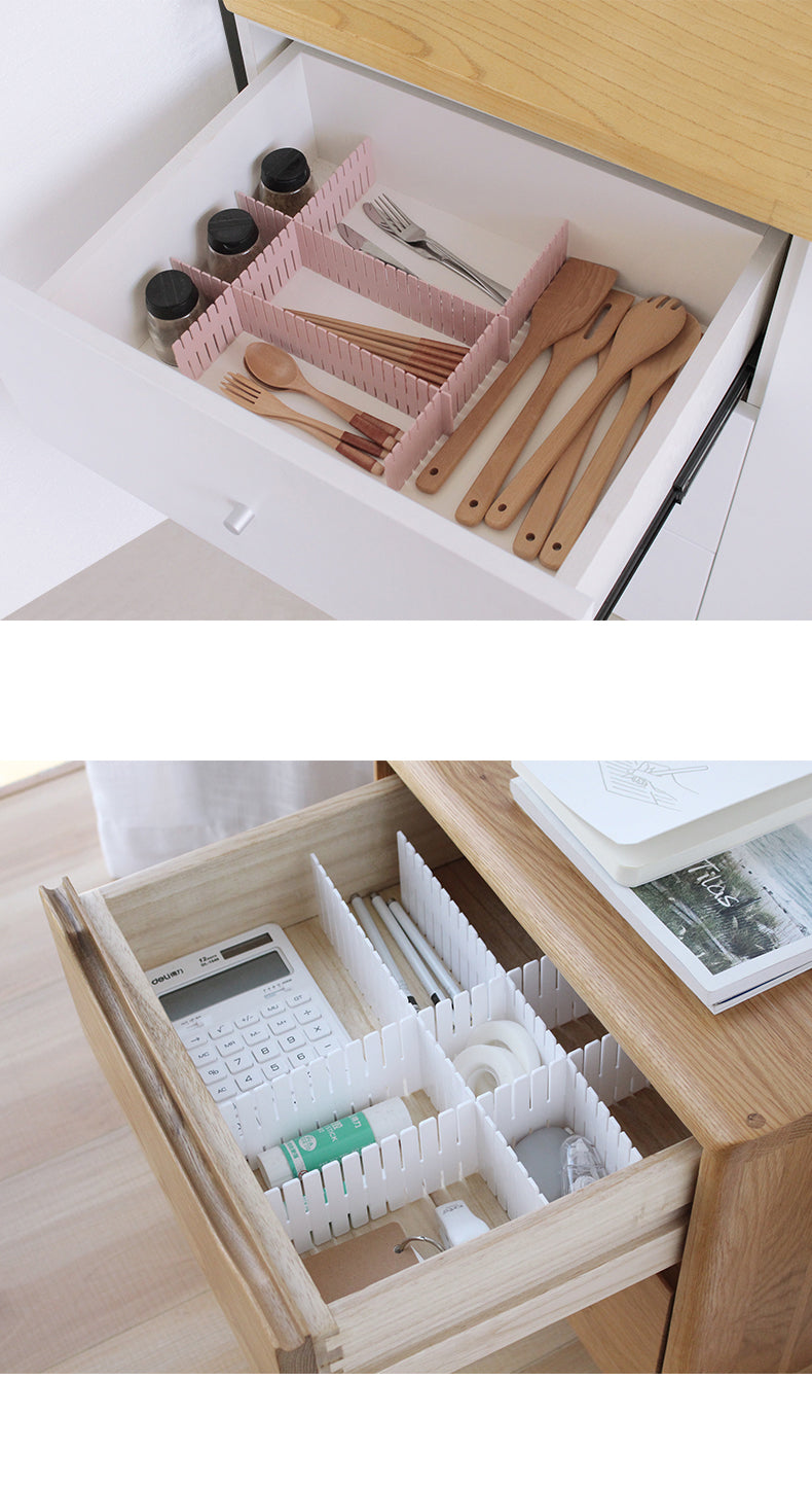 Free Combination Adjustable Drawer Organizer (Set of 4) 04