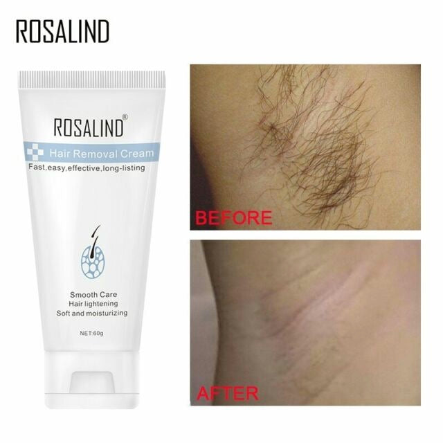 Painless Effective Hair Removal - Lightening Smooth Care