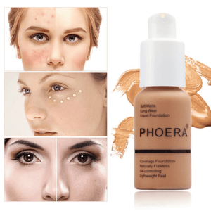 PHOERA Whitening Liquid Full Cover Concealer 02