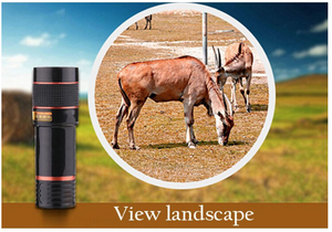 HD Universal 12X Cell Phone Telephoto Lens - See Things Better And Clear From Far